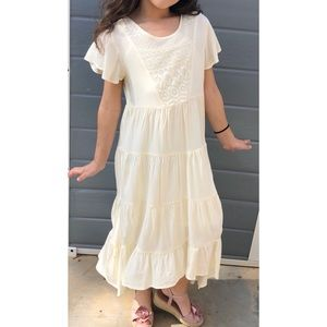 Fabkids tiered maxi dress